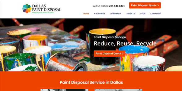 Dallas Paint Disposal