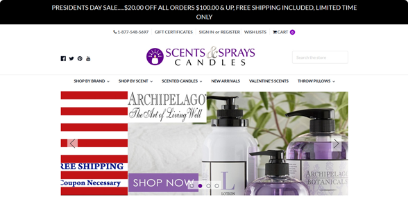 Scents And Sprays